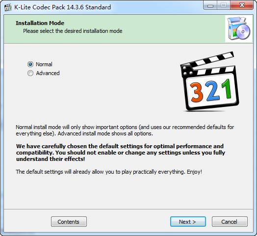 K-Lite Codec Pack Standard钱柜娱乐