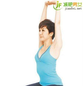 小腿减肥瑜伽第九课:英雄式图片