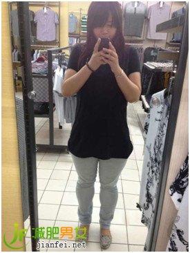 月瘦25斤粗腿瘦腿秀丝袜长腿-妹子-减肥百科-喵so瘦身糖果代理图片