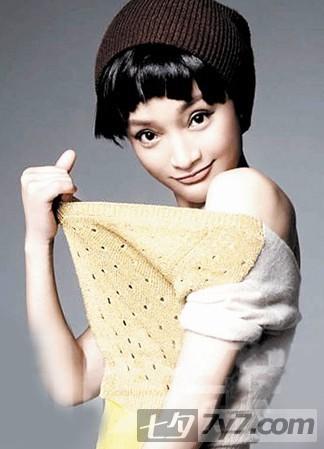 冬日首选 周迅2011最新短发发型图片