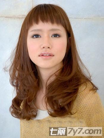 圆脸的公主头发型图片展示图片