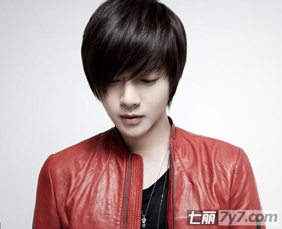 金贤重最新专辑的发型造型 阳光美男变身朋克型男