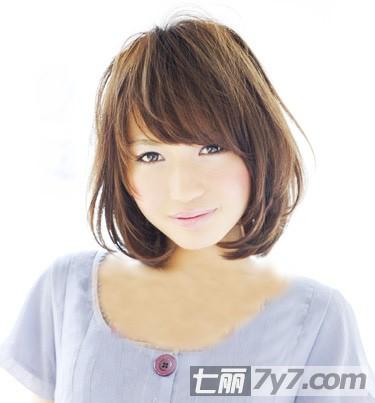 方脸适合的短发发型设计图片 多款独特风格任你挑