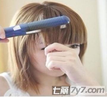 烫发步骤 自己在家轻松打造短发发型