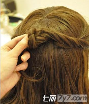 速成韩式公主编发 6个步骤轻松打造-diy发型-美容