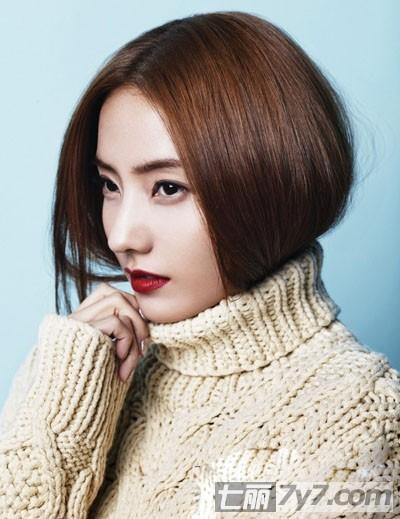 韩国女星韩彩英时尚发型图片 轻松塑造优雅高贵熟女魅力