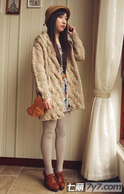 冬季森系女生穿衣搭配技巧