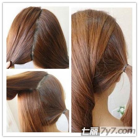 中长发甜美简单发型扎法 蜕变温婉气质型美人儿