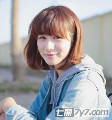 日韩系短发发型图片推荐 适合各种不同小清新女生
