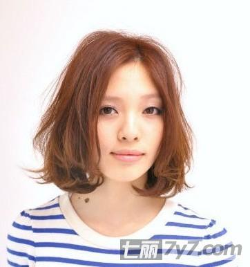 纯美短发梨花头发型图片 圆脸显瘦法宝图片