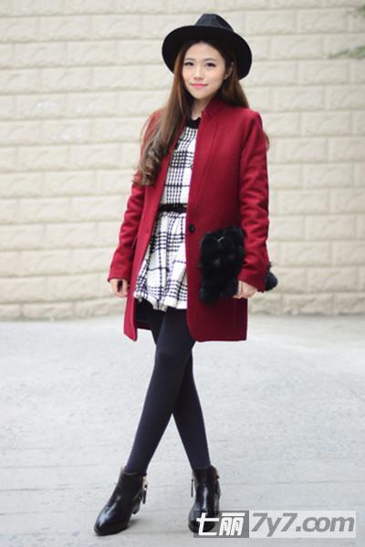 矮个子女生冬天穿衣搭配