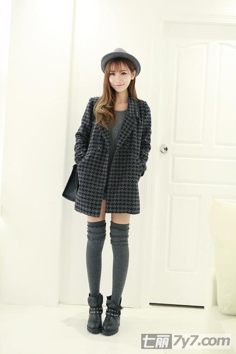 矮个子女生冬季穿衣搭配小秘籍