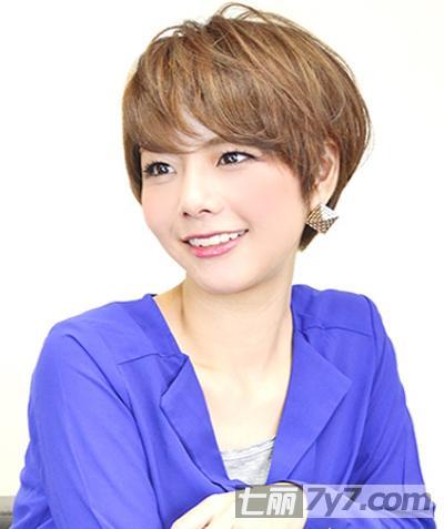 2014最新女生短发发型图片图片