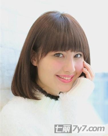 2014春夏韩式短卷发发型图片