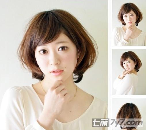 圆脸女生适合的短发发型 推荐春夏最潮荷叶头