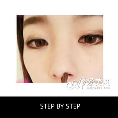 韩国最热粗平一字眉画法 超详细修眉教程