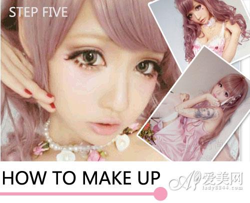 中国版芭比娃娃cos化妆