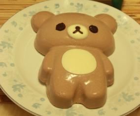 轻松熊巧克力慕斯蛋糕