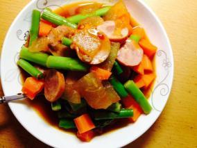 无油蔬菜杂炖(减肥餐)