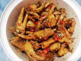 好吃的酸辣鸡爪大全特色菜谱_大全-2345做法菜谱知己聚餐美食图片