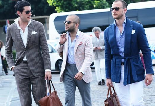男士衣櫥 經典款的新穿法