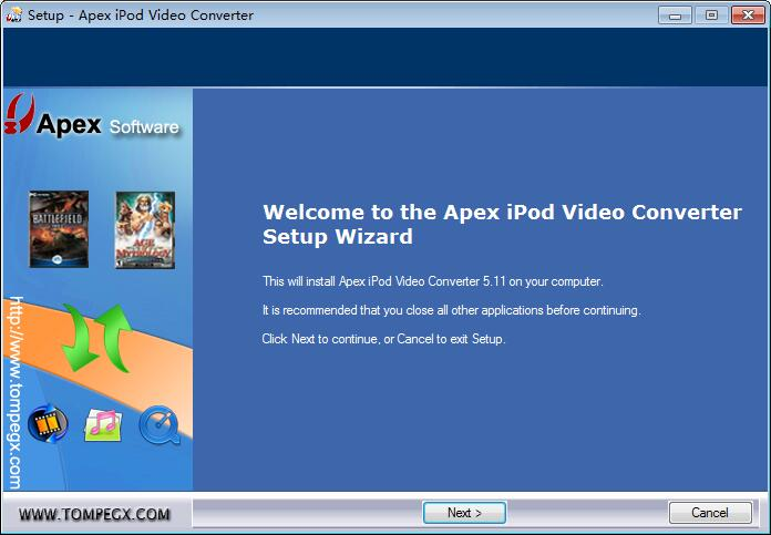 Apex Video to MOV Converter下载