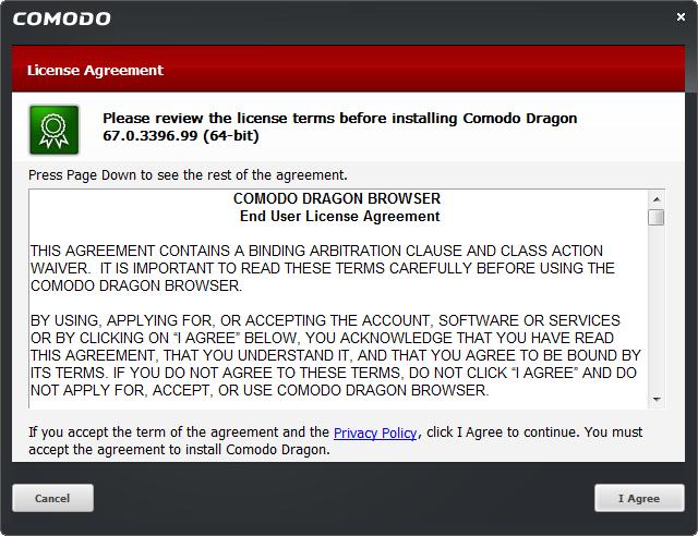 Comodo Dragon(龍安全瀏覽器)下載