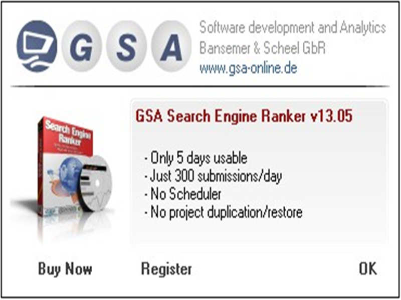 GSA Search Engine Ranker下载