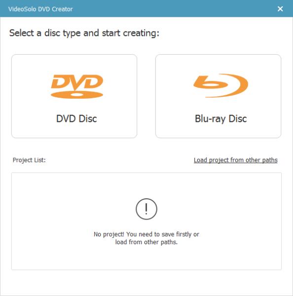 DVD刻录(VideoSolo DVD Creator)下载