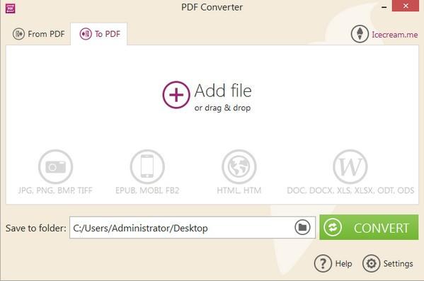 Icecream PDF Converter下载