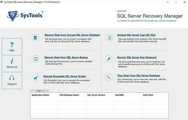 SysTools SQL Server Recovery Manager下载