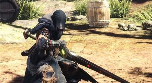 怪物猎人世界熔山龙剑+透明盾MOD下载