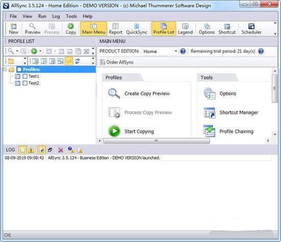 AllSync(数据同步备份软件)下载